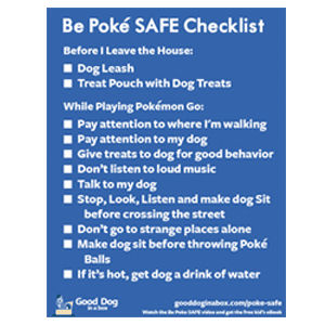 Be Poke SAFE Checklist