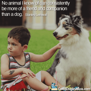 Dog Quotes Stanley Leinwoll