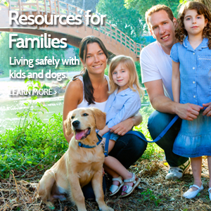 Resources for Families with Dogs & Kids Ad