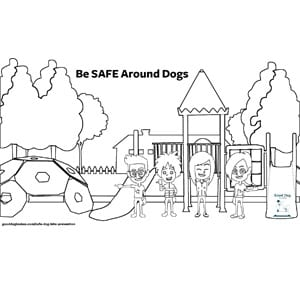 Be SAFE Coloring Pages