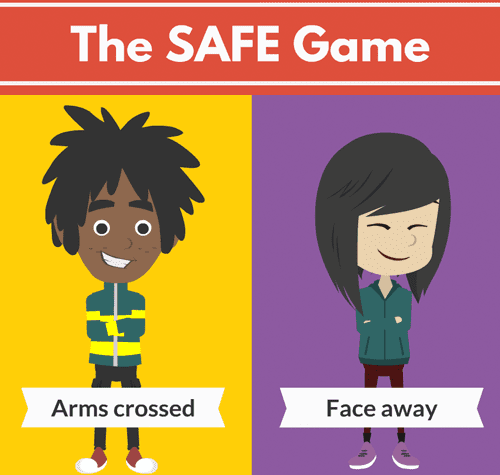 SAFE Dog Bite Prevention Game for Kids