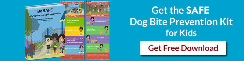 Download the SAFE Dog Bite Prevention Kit for Kids