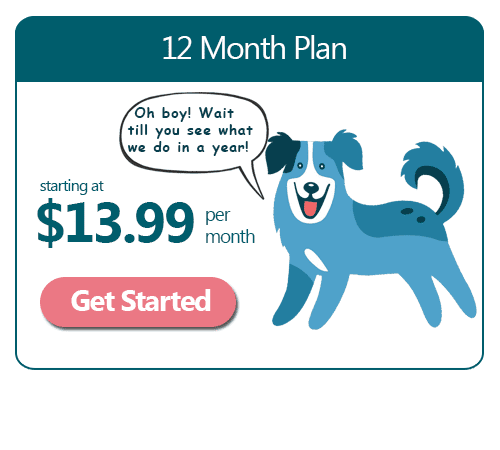 Good Dog 12 Month Lite Plan