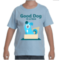 Good Dog in a Box Kid's Tshirt