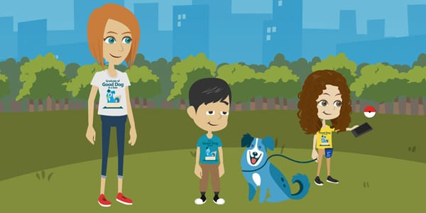 Pokemon Go Safety Program for Kids and Dogs