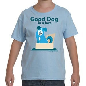 Good Dog in a Box Kid's T-Shirt