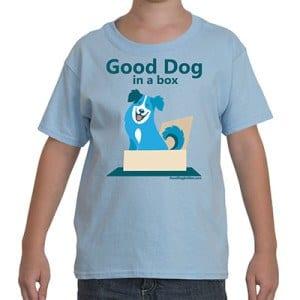 Good Dog in a Box Kid's T-Shirt