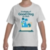 Graduate of Good Dog in a Box Kid's T-Shirt White