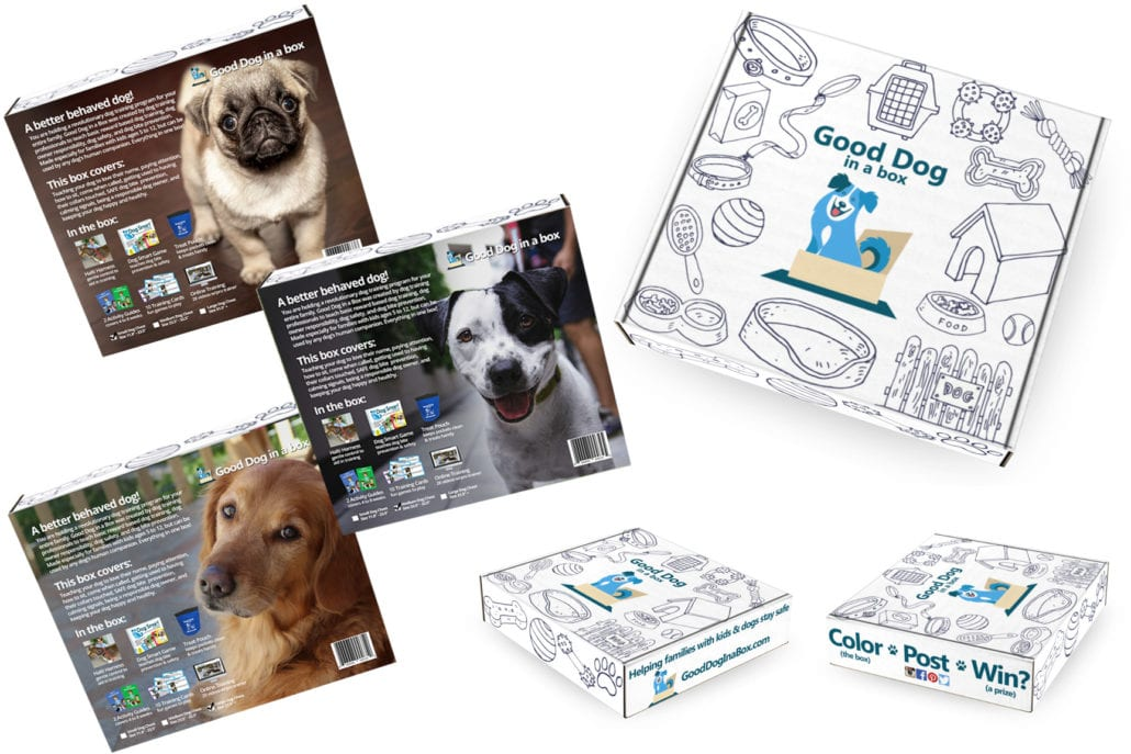 2 Month Retail POS Good Dog in a Box Dog Training System