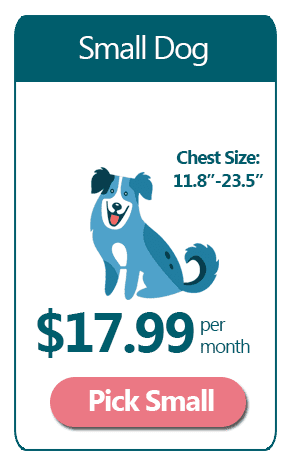 Small Dog - $17.99 a month