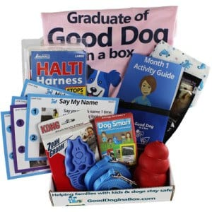Good Dog in a Box Full Family Dog Training Subscription