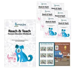 Reach & Teach Kid's Activity Workbooks
