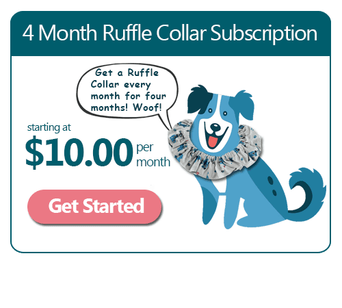 4 Month Ruffle Collar Subscription