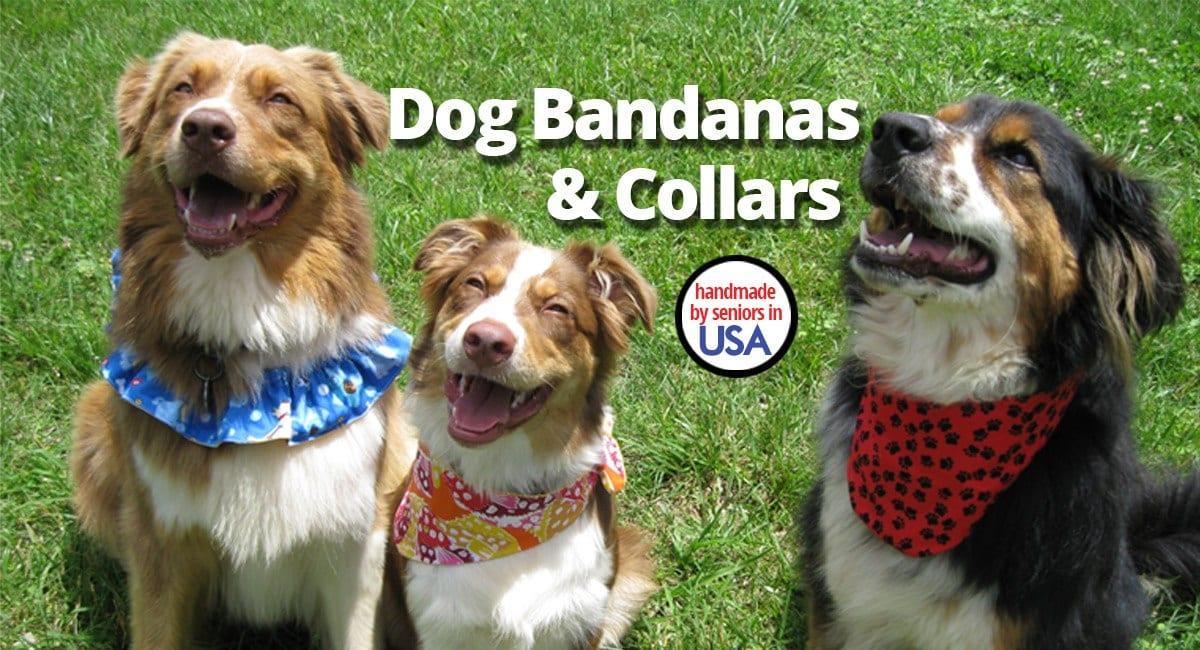Dog Bandanas & Ruffle Dog Collars