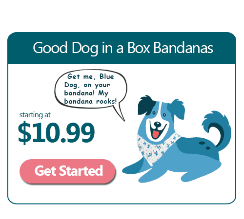 Good Dog Handmade Dog Bandanas Custom