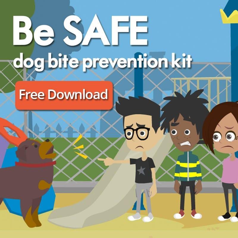 Safe Dog Bite Prevention Free Kit
