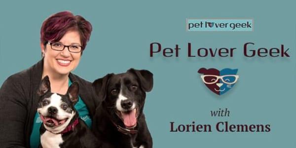 Pet Lover Geek on Voice America Radio with Lorien Clemens