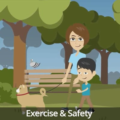 Being a Responsible Pet Owner Video Series: Exercise & Safety