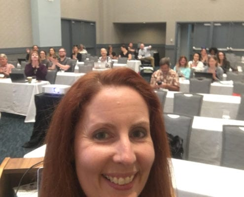 Kim Butler The URL Dr speaking at BlogPaws 2017