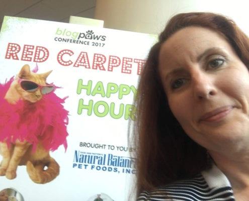 Kim Butler at the BlogPaws 2017 Red Carpet