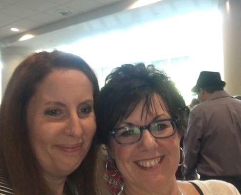 Kim Butler and Jodi Clock, CPLP at BlogPaws 2017
