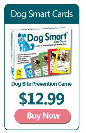 Dog Smart Dog Bite Prevention Card Game
