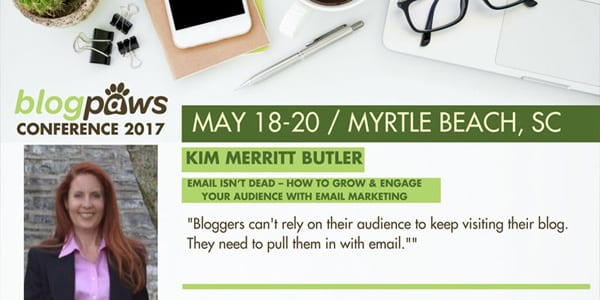 Kim Merritt Butler to Speak at BlogPaws 2017
