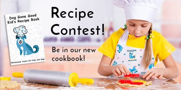 Kid and Dog Recipe Cookbook Contest