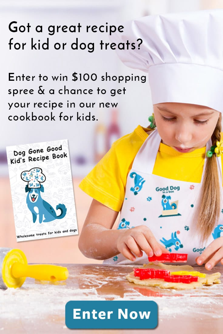Good Dog in a Box Dog & Kid Recipe Contest