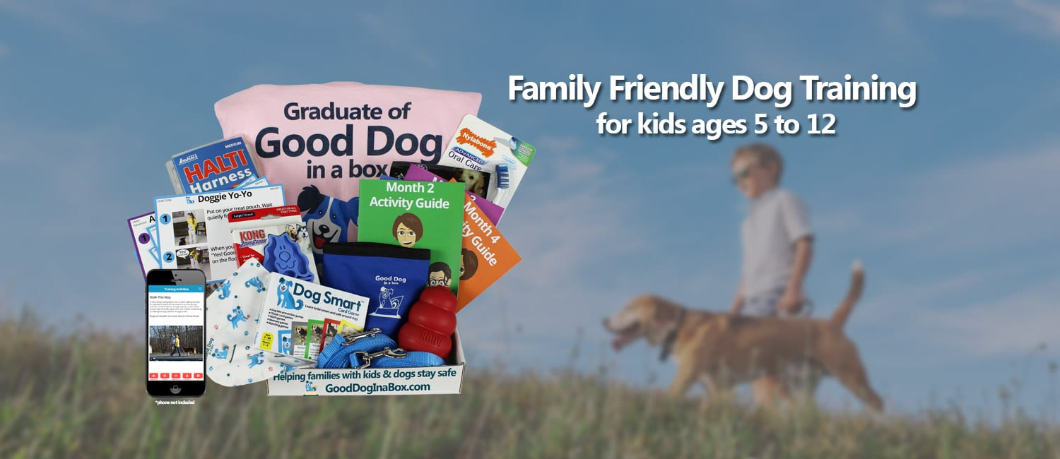 Dog Training Subscription for Families and Kids