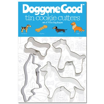 Doggone Good Cookie Cutter Set - Collie - Fox Terrier - Dachshund
