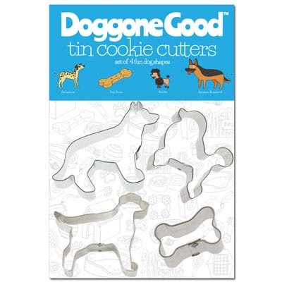 Doggone Good Cookie Cutter Set - German Shepherd - Poodle - Dalmation