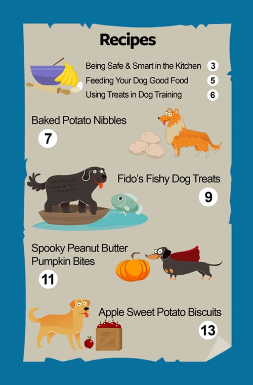 Doggone Good Dog Treat Cookbook Table of Contents 1