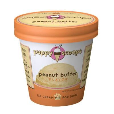 Puppy Scoops Peanut Butter Dog Ice Cream Mix