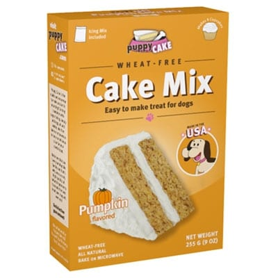 Puppy Cake Pumpkin Spice Cake Mix for Dogs