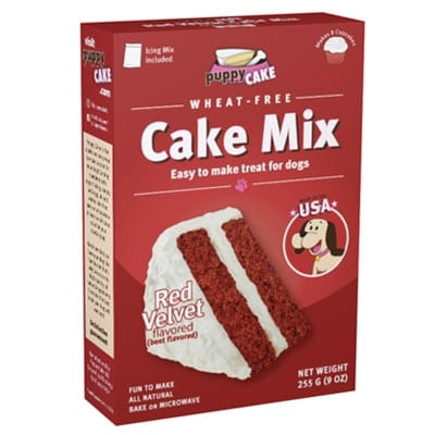Red Velvet Puppy Cake Mix for Dogs