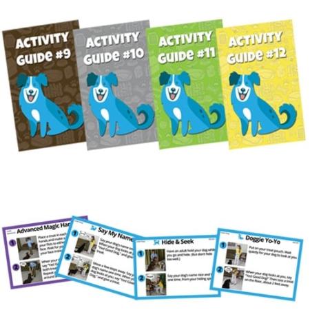 Dog Training Curriculum Packs 9-12