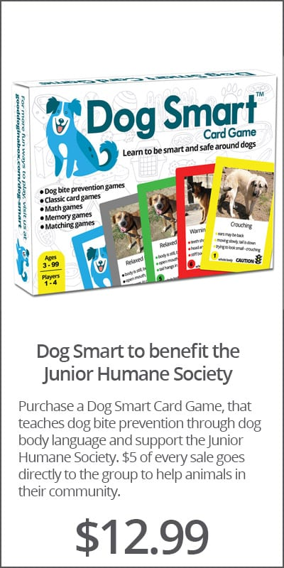 Dog Smart to benefit the Junior Humane Society