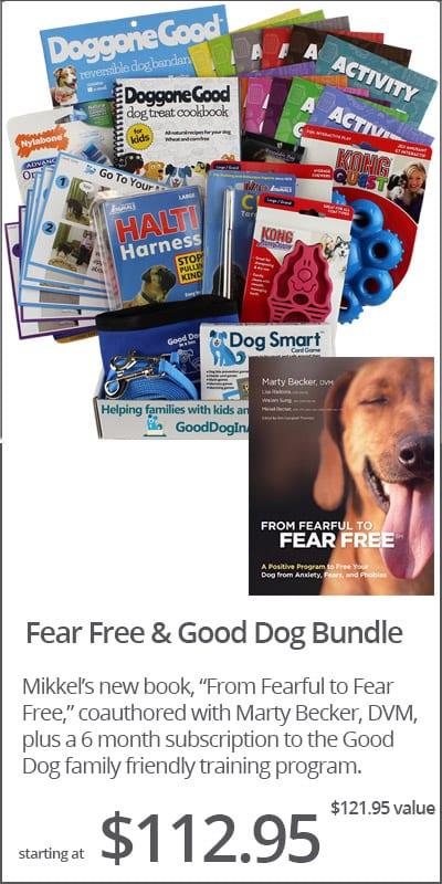 Fear Free Good Dog Training Bundle