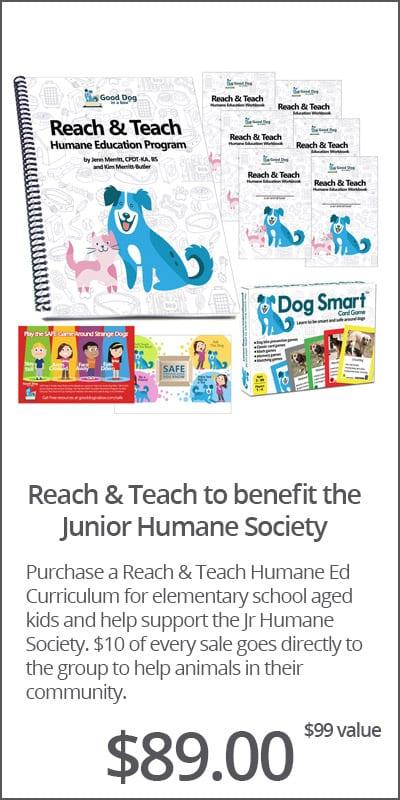 Reach & Teach for Junior Humane Society