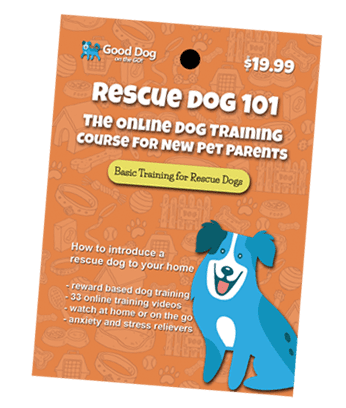 Rescue Dog 101 Online Dog Training