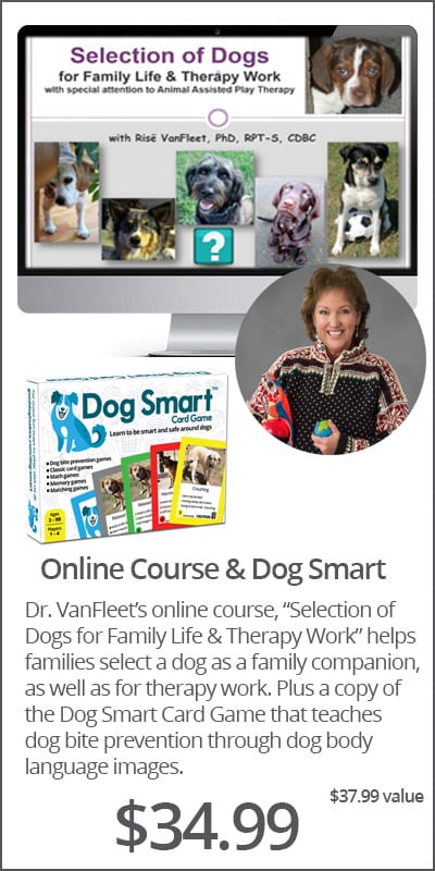 Dr. Risë VanFleet's Online Course + Dog Smart