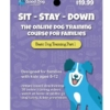 Sit - Stay - Down Online Dog Training