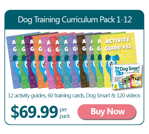 12 Dog Training Curriculum Guides