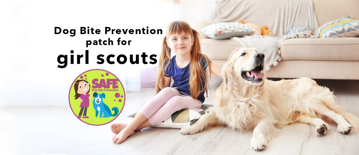 Girl Scout Dog Bite Prevention Patch