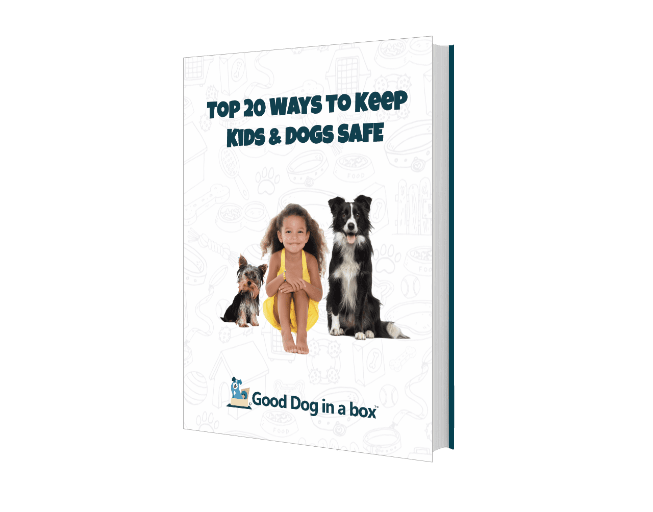 20 Ways To Keep Kids and Dogs SAFE ebook