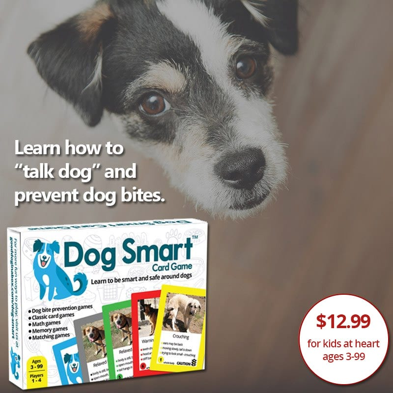 Dog Smart Dog Bite Prevention Card Game