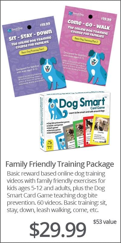 Family Friendly Online Dog Training Bundle
