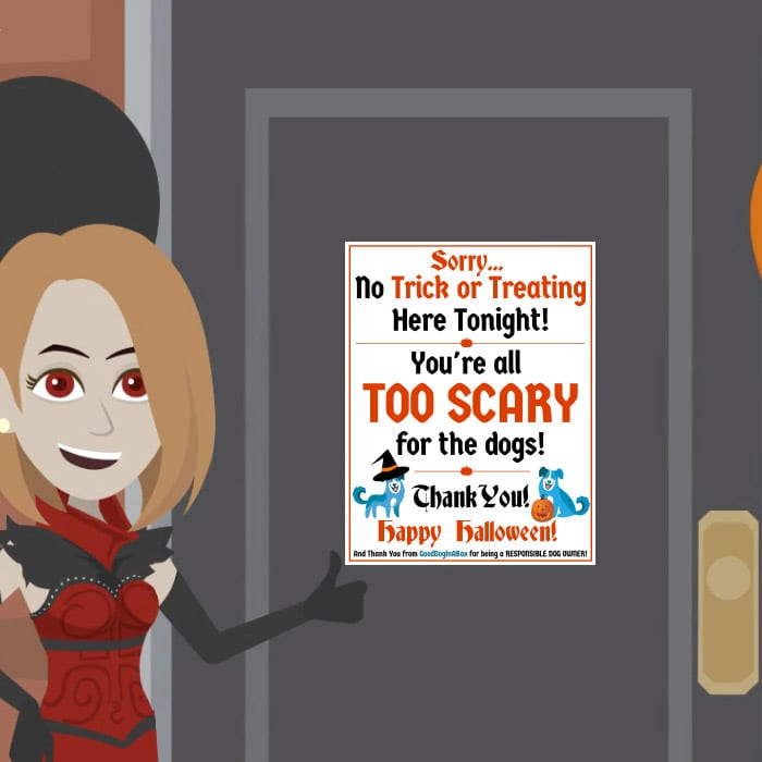 No Trick Or Treating Halloween Safety
